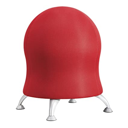 Charmant Safco Products 4750CI Zenergy Ball Chair, Crimson