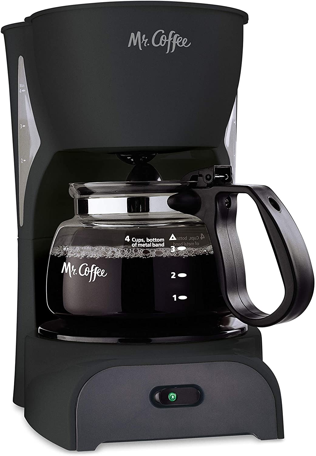 MR. COFFEE SIMPLE BREW 4-CUP COFFEE MAKER