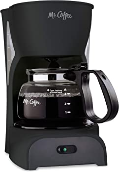 Mr. Coffee Simple Brew 4 Cup Coffee Maker