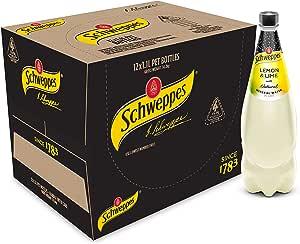 Schweppes Lemon & Lime Mineral Water, 12 x 1.1L