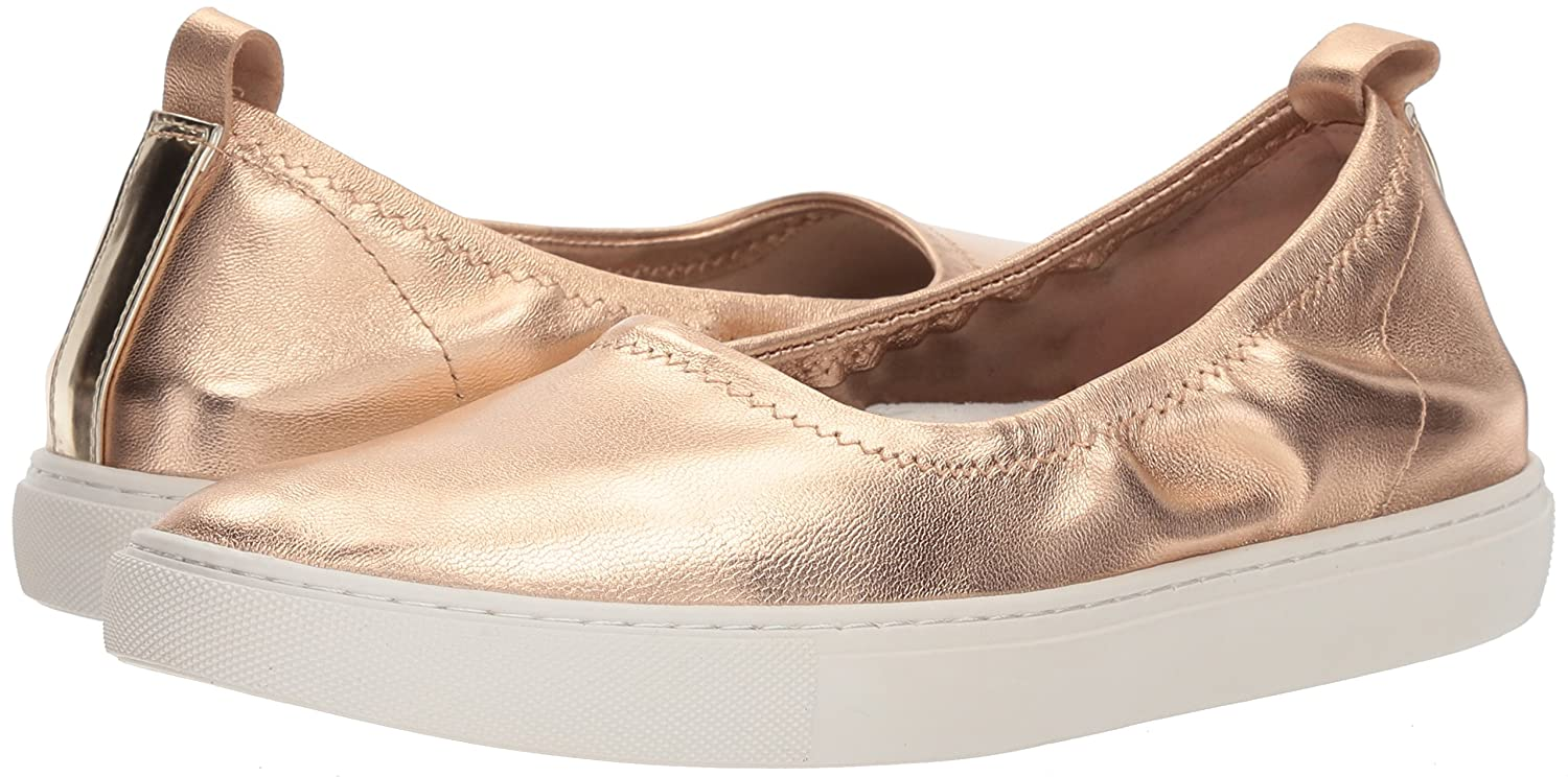 Kenneth Cole New York Stretch Women's Kam Ballet Flat Stretch York Sneaker B0794Y5Y74 7 B(M) US|Rose Gold 228625