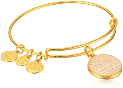 Alex and Ani Words are Powerful Bangle Bracelet eGjhp