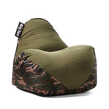 Terrific Big Joe 1180287 Warp Bean Bag Camo Green Spiritservingveterans Wood Chair Design Ideas Spiritservingveteransorg