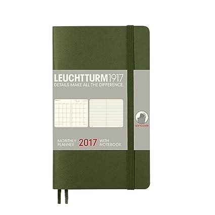 Leuchtturm1917 348309 Mes Agenda con cuaderno Pocket (A6 ...