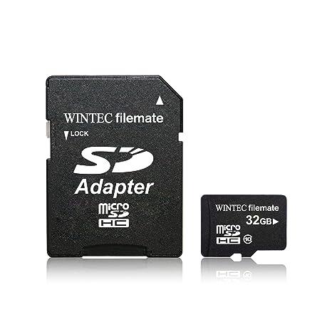 Amazon.com: WINTEC – 3 fmusd32gbc10-r Filemate tarjeta de 32 ...