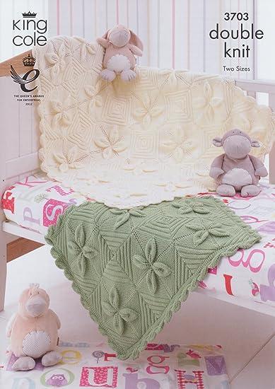 Amazon King Cole Dk Baby Double Knitting Pattern Babies Pram