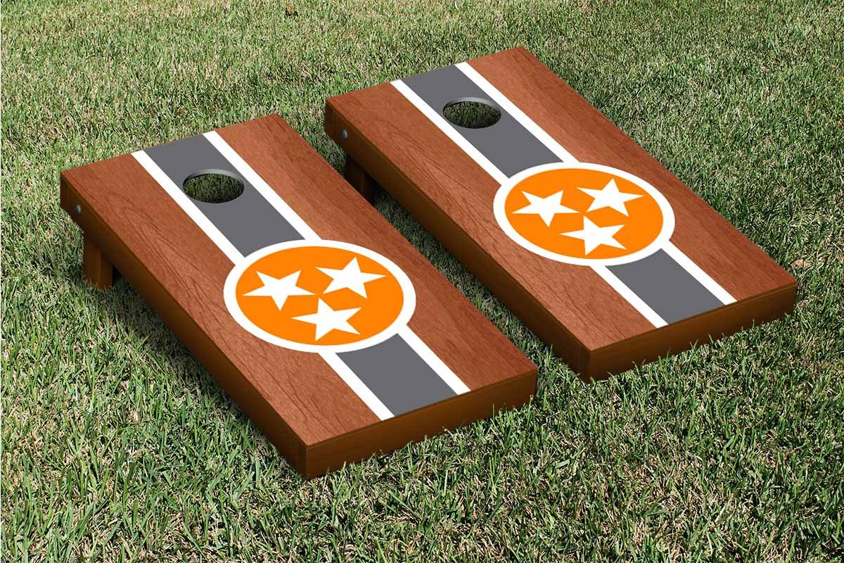 TristarローズウッドStainedストライプCornhole Game Set Set B00M3E9V92 B00M3E9V92, 【初売り】:c9d251a7 --- sharoshka.org