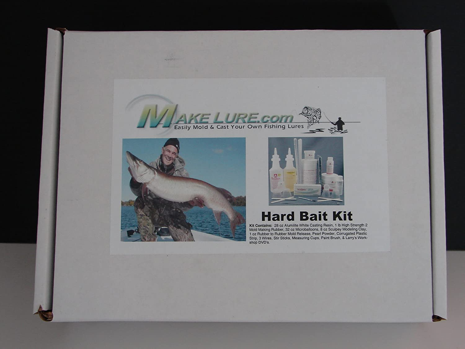 Lure making kits make your own fishing lures - Amazon Com Alumilite Make Fishing Lures Hard Bait Kit Molding And Casting Materials Sports Outdoors