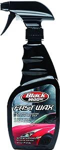 Black Magic 120025 2-in-1 Fast Wax Spray, 16 oz.