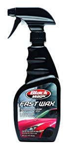 best wax for black cars, Black Magic 120025 2-in-1 Fast Wax Spray, 16 oz