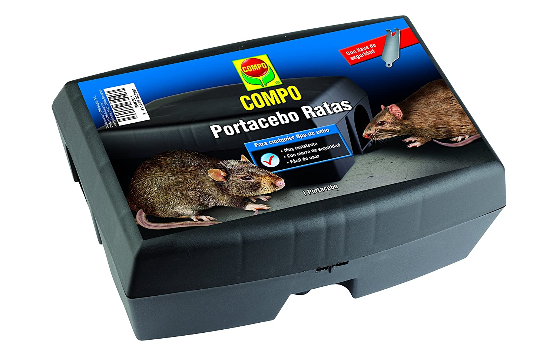 Compo 2153902011 Barrera De Roedores Portacebo Ratas 1 Ud ...