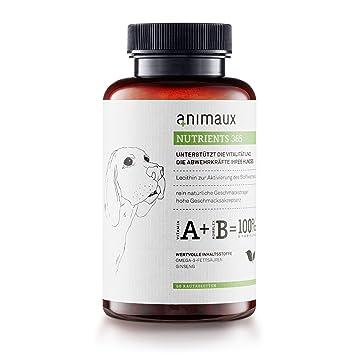 Animaux® vitaminas para perros a reforzar el immunsystems. Alimentos para complementar más Vitalidad,
