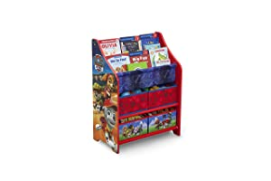 Delta Children Nick Jr. PAW Patrol Book and Toy Organizer