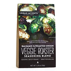 Urban Accents Veggie Roaster, Balsamic and Roasted Onion, 1.25 Ounce