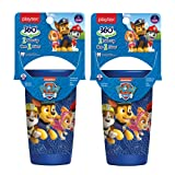 Playtex Sipsters Stage 2 360 Degree Paw Patrol Spill-Proof, Leak-Proof, Break-ProofSpoutless Cup for Boys, 10 Ounce - Pack of 2