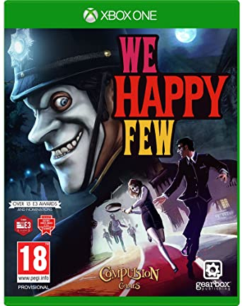 Wa Happy Few jaquette One lageekroom