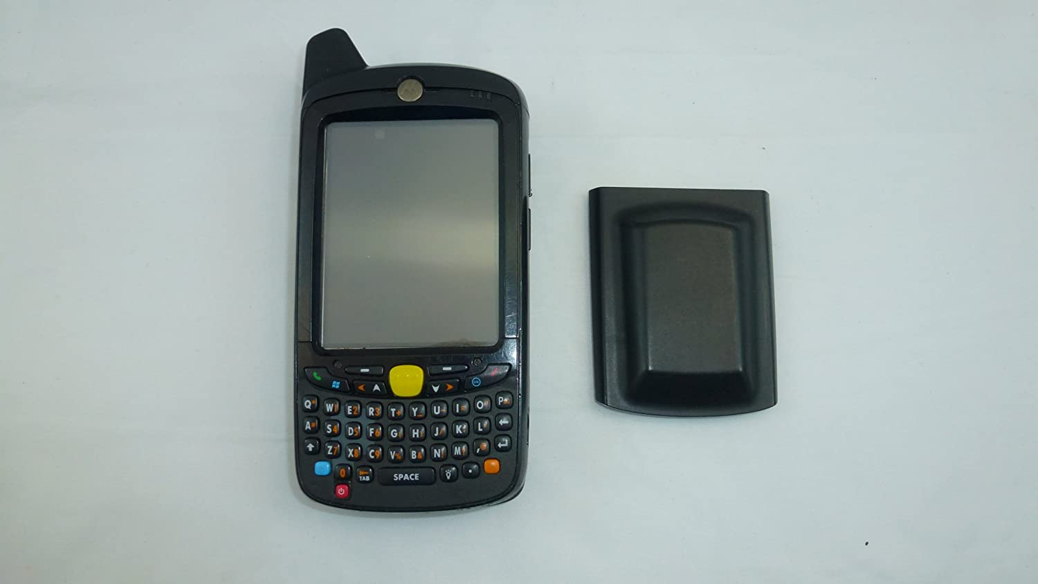 Motorola MC55 p n MC5574 PKCDUQRA9WR and Data Cable KIT WLAN 802.11a b g 1D 2D Hybrid Crosshair Scanner GSM Cellular Integrated GPS QWERTY Keypad Windows Mobile 6 Pro 128MB 512MB Bluetooth