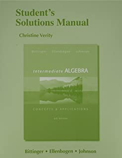 Intermediate algebra concepts applications 9th edition students solutions manual for intermediate algebra concepts application fandeluxe Images