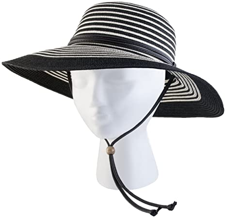 Image Unavailable. Image not available for. Color  Sloggers 442BW Women s  Braided Wide Hat ... b2d37dd8e632