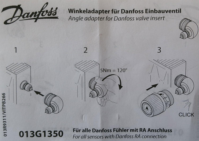 Danfoss Adaptateur coud/é pour capteur RA et RAW