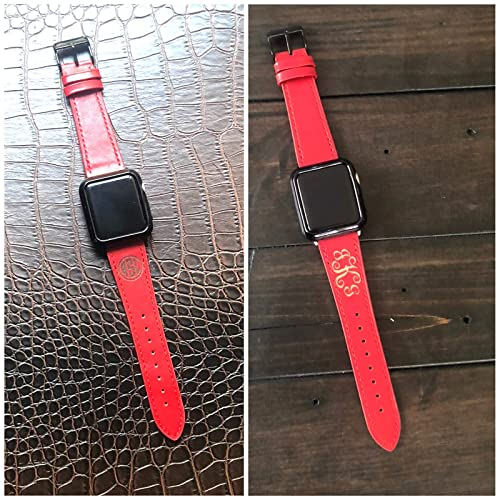 Amazon Com Personalized Apple Watch Band 38mm 40mm 42mm 44mm