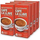 Café La Llave Decaf Espresso Capsules, Intensity 11 (80 Pods) Compatible with Nespresso OriginalLine Machines, Single Cup Coffee