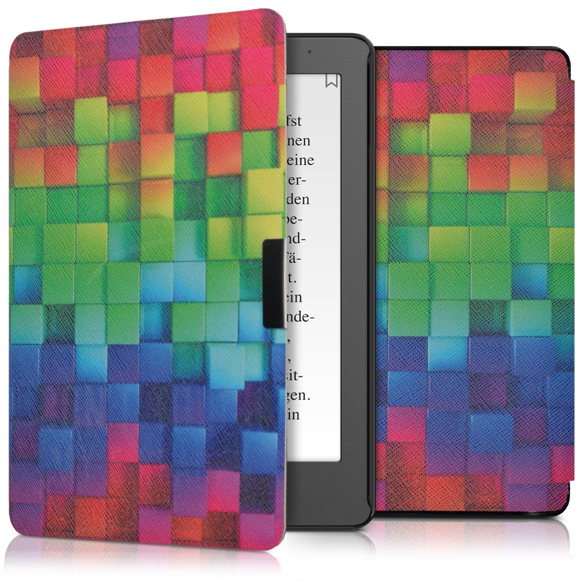 Coque avec Rabat magn/étique en Simili Cuir pour liseuse Kobo Aura Edition 2 kwmobile Coque liseuse Kobo Aura Edition 2
