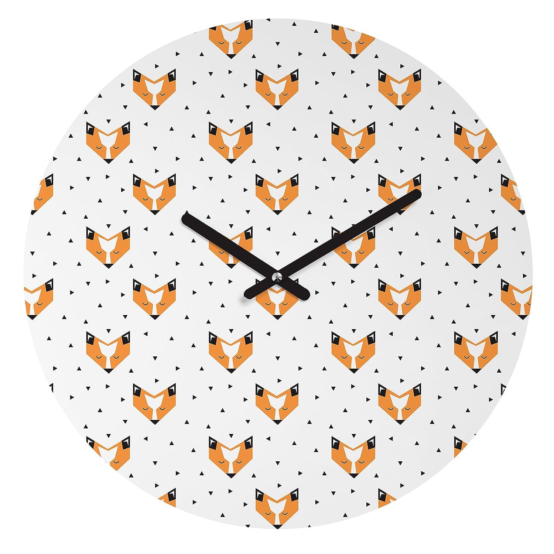 Round 12 Old Time Western Deny Designs Zoe Wodarz Round Clock