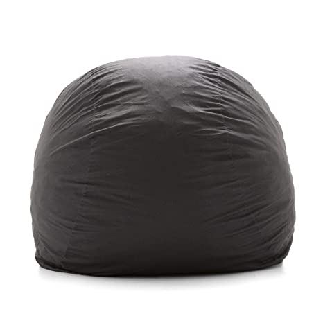 Marvelous Big Joe Lenox Shredded Foam Bean Bag Super Black Pdpeps Interior Chair Design Pdpepsorg