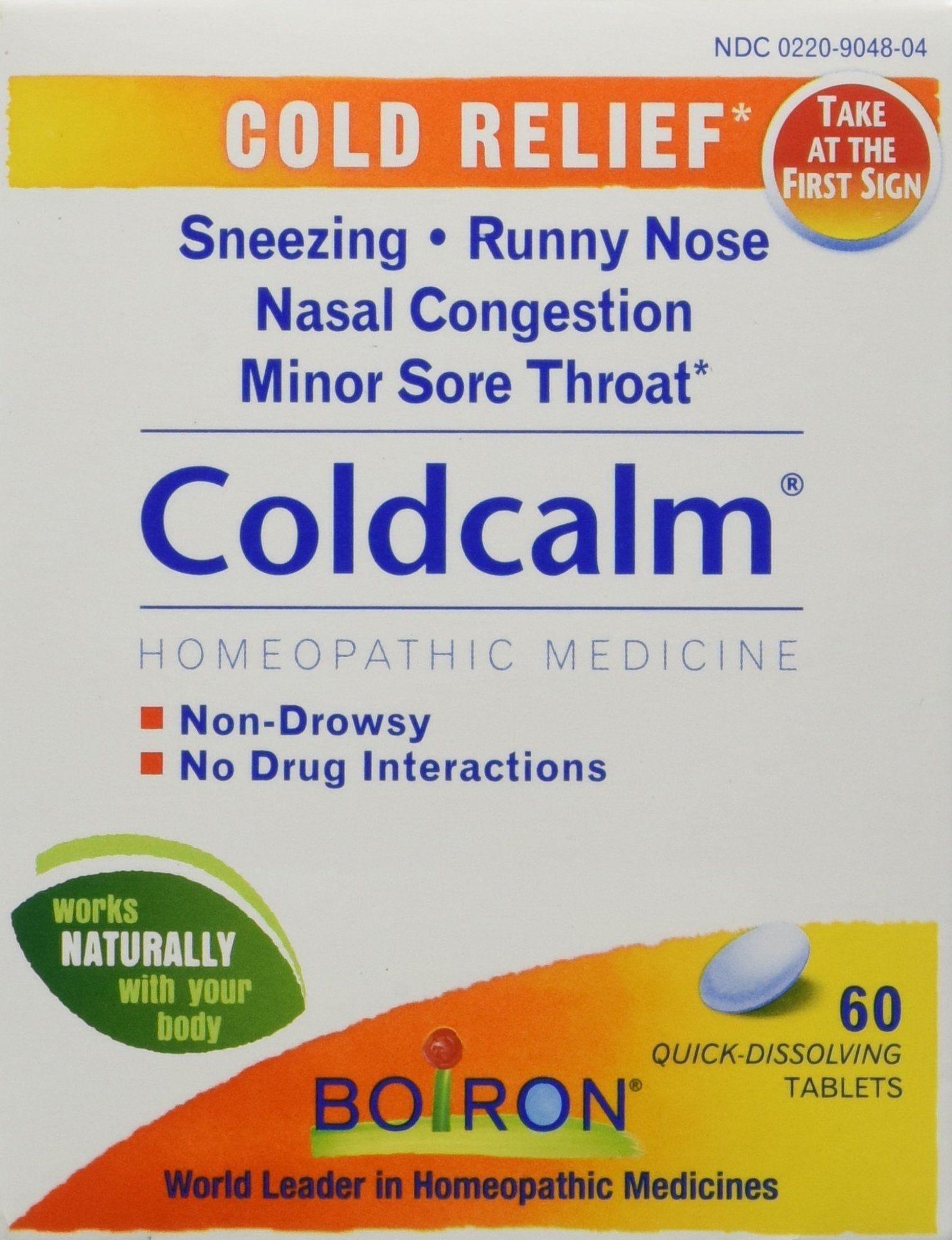 Boiron Coldcalm Tablets, 60 Count