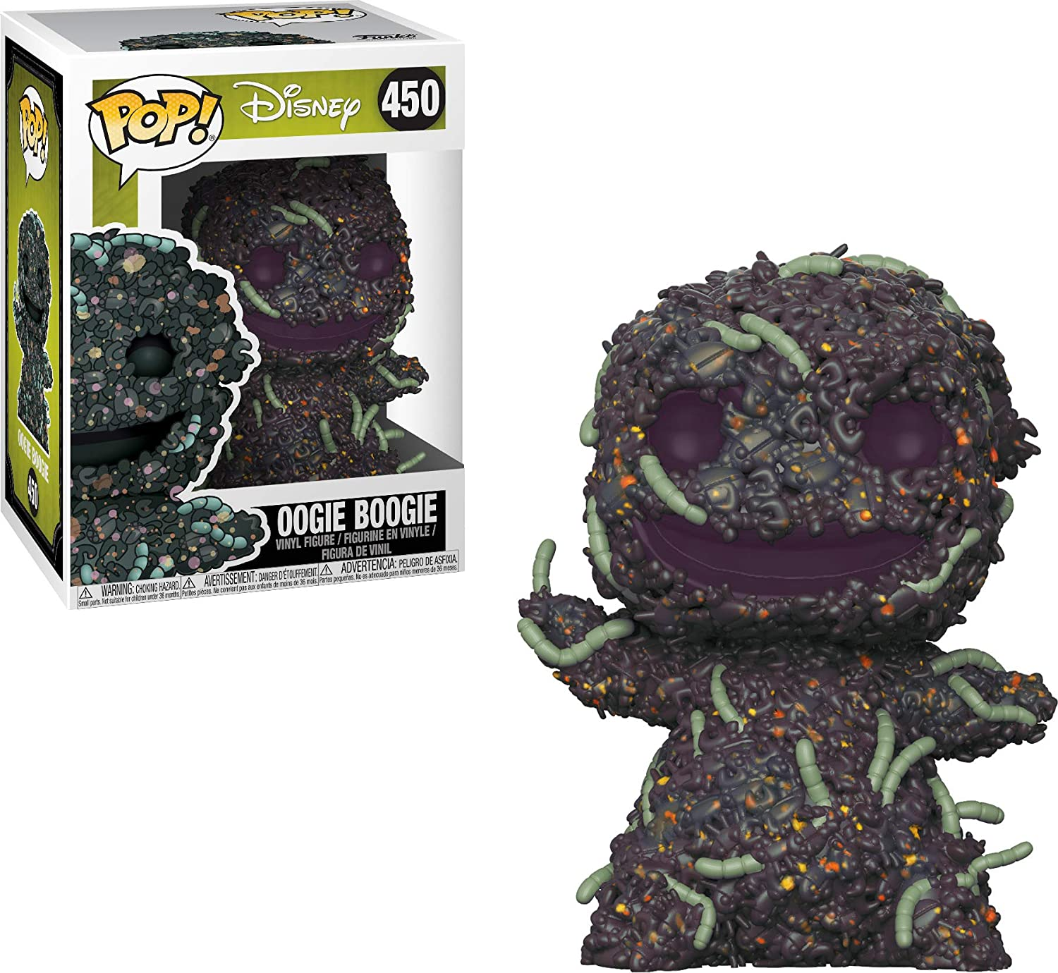 LAST LEVEL- Funko Disney Figura Pop NBX: Oogie Boogie Bugs, Multicolor (FFK32838)