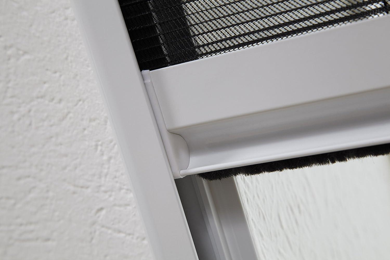 hecht international 101160101-VH Dachfensterplissee 110 x 160 cm in wei/ß 110x160 cm