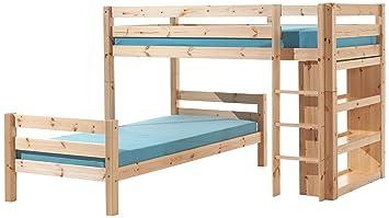Vipack Etagenbett Pino : Vipack furniture winkel etagenbett pino winkelbett