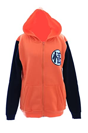 TA-13-1 GO - Sudadera con capucha de Dragon Ball, color naranja: Amazon.es: Ropa y accesorios
