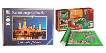 Pack Puzzle Ravensburger 88585. Basilica del Pilar. Zaragoza. 1000 piezas + Tapete universal