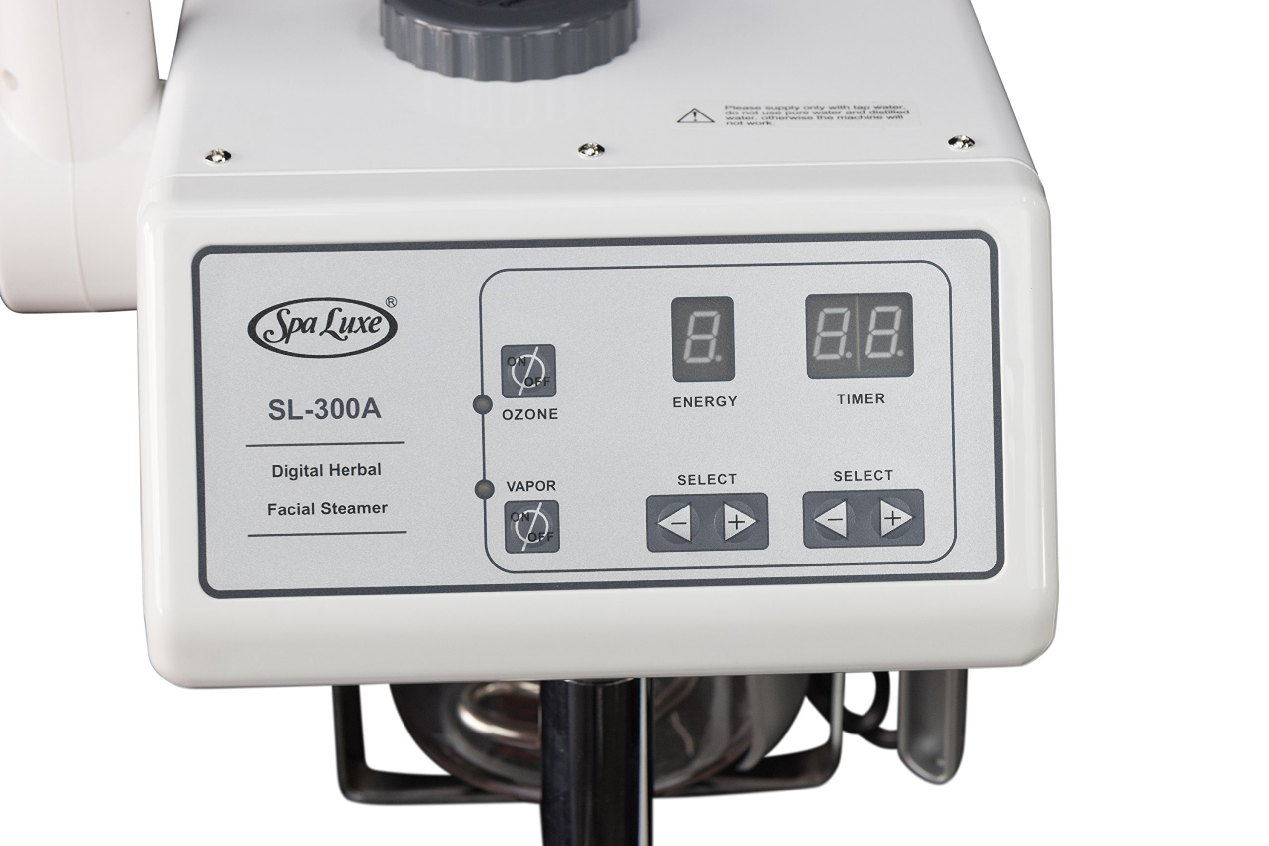 2 in 1 Digital Facial Steamer and LED Magnifying Lamp Combo - NEW by Spa Luxe (Image #2)