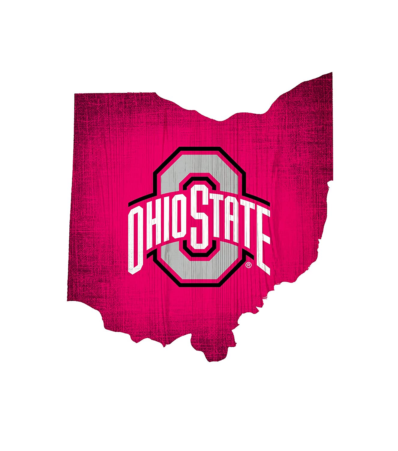 Fan Creations NCAA 12 Team Color Logo State