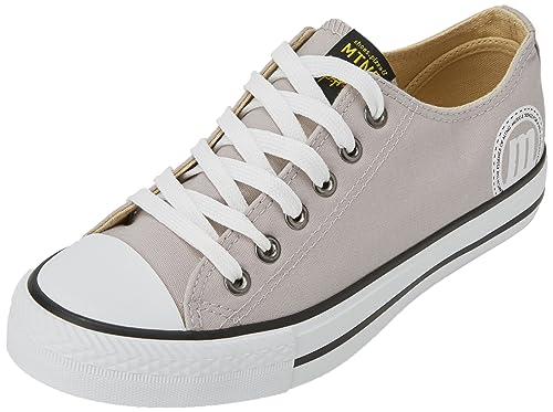 MTNG Lona Chica - Zapatillas de Deporte Unisex, Color Canvas Negro, Talla 36