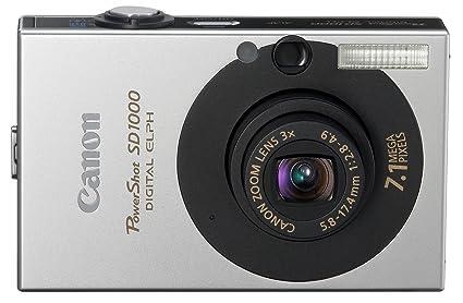 amazon com canon powershot sd1000 7 1mp digital elph camera with rh amazon com Digital Camera USB Cable Digital Camera Cases