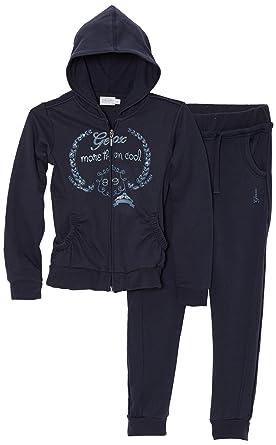 Geox - Chándal para niña, Talla FR : 6 ANS (Taille Fabricant : 6 ...