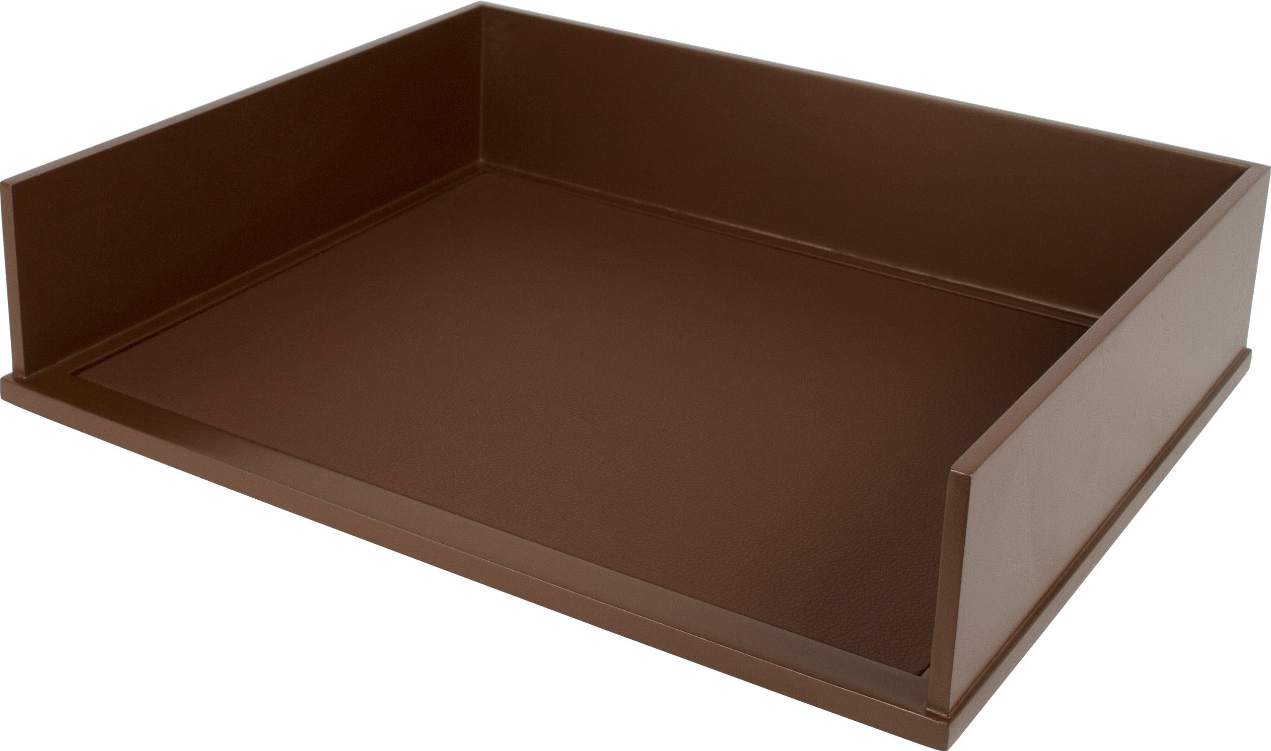 Victor Wood Mocha Brown Collection, Letter Tray, Brown, (B1154)