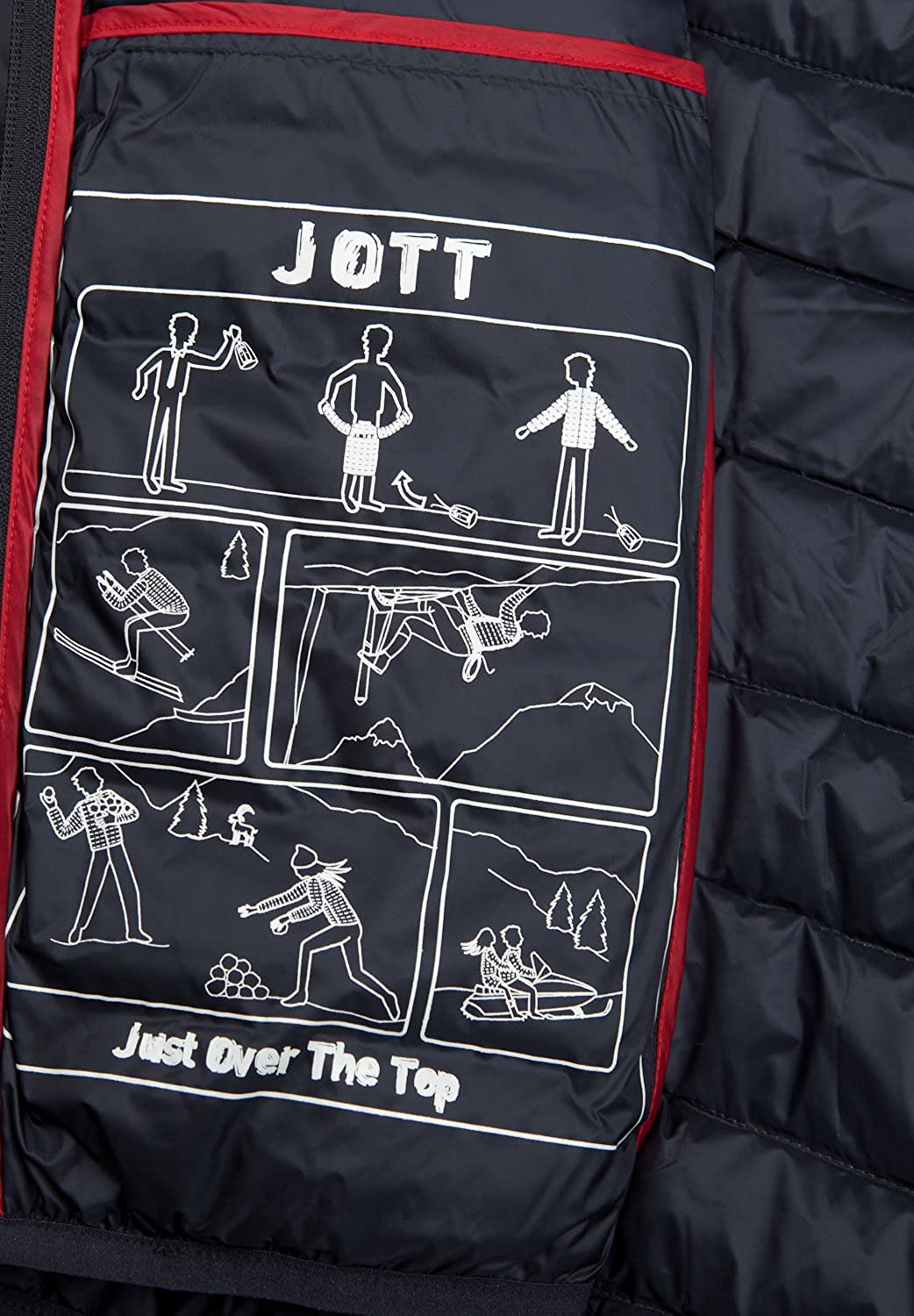 Jott Nico - Sizes : XXL, Colors : Marine