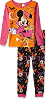 Disney Girls' Minnie Mouse 2-Piece Pajama Set