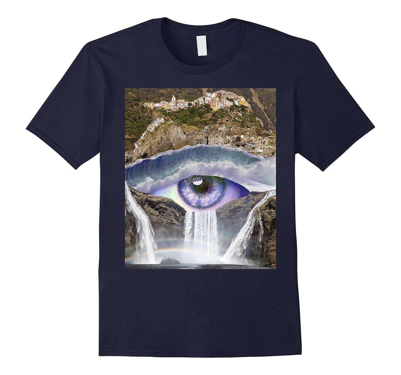 Iris Falls- Trippy Art Design- Soft Tee-TH