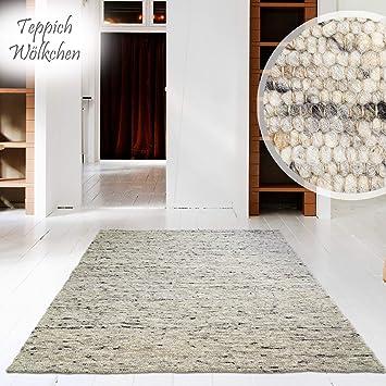 Hand Web Teppich | Reine Schur Wolle Im Skandinavischen Design |Für  Wohnzimmer