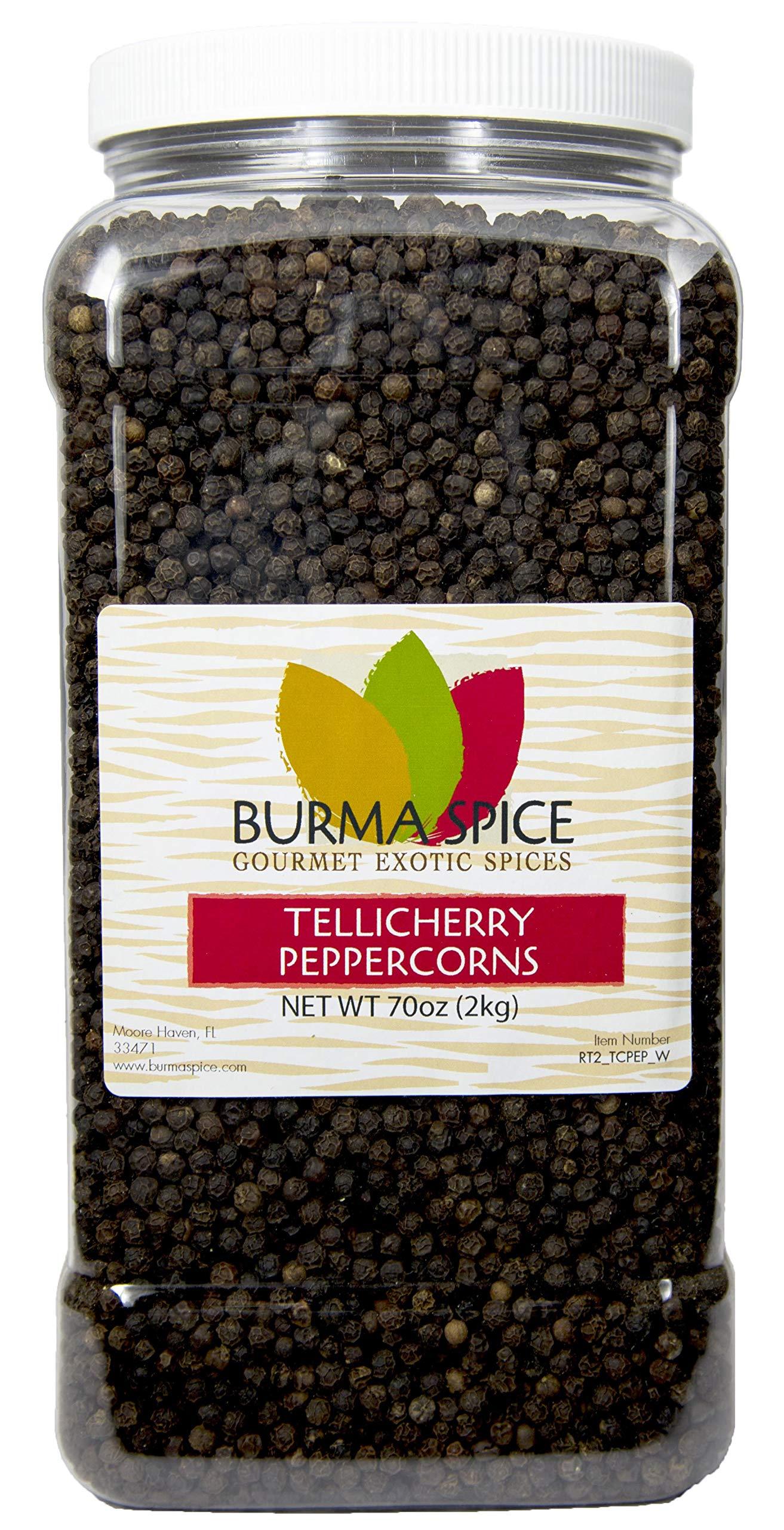 Tellicherry Black Peppercorn, Whole : Kosher Certified (70oz.)