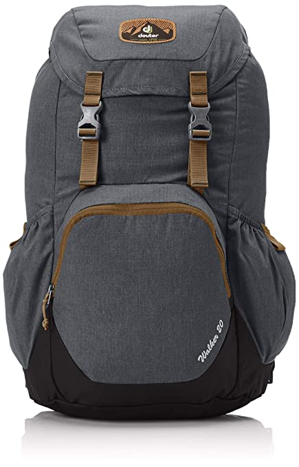 708ecade800 Amazon.com : Deuter Walker 24 Backpack, Anthracite/Black, 24-Liter ...