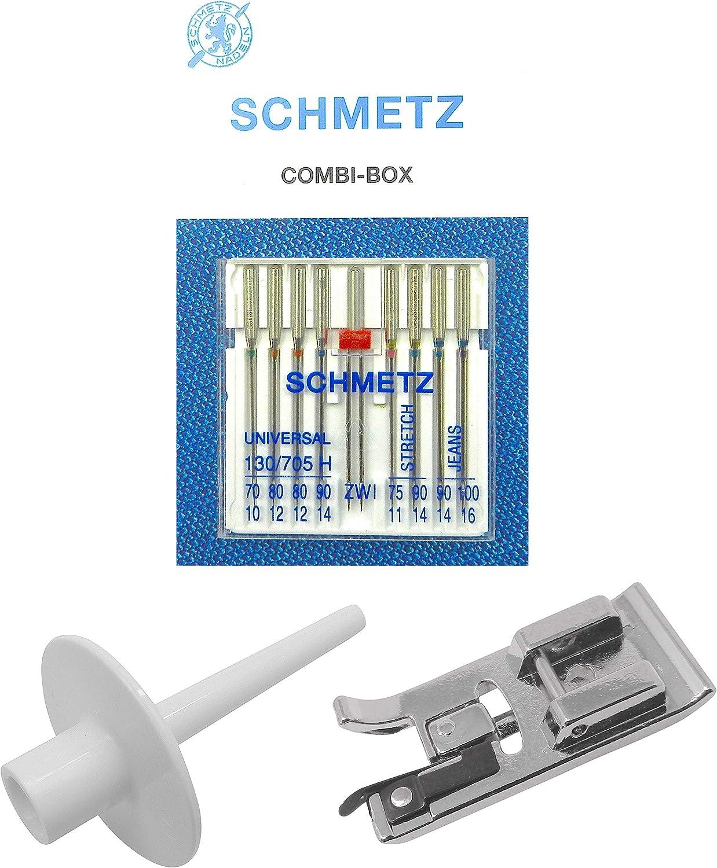 ZickZackNaehmaschine Pied /à Broder pour Machine /à Coudre Singer Tradition 2250//2253//2259//2263//2273//2282
