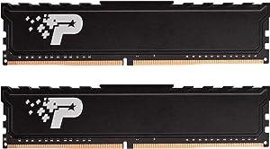 Patriot Signature Premium DDR4 32GB (2x16GB) 2666MHz (PC4-21300) UDIMM kit with Heatshield PSP432G2666KH1