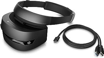 HP Windows Mixed Reality Headset VR1000-100nn – Black-Jet Black